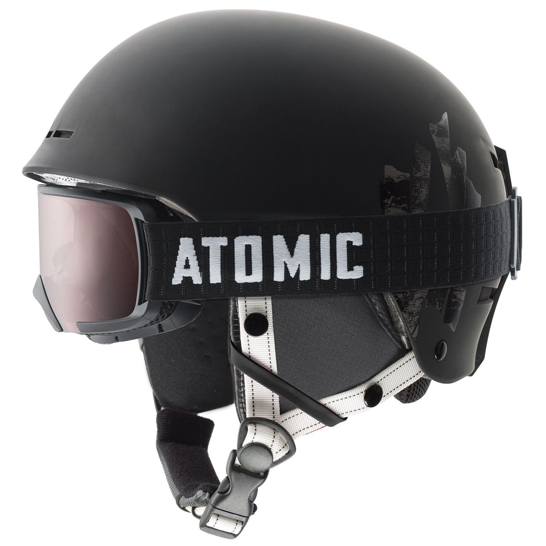 Combo Troop Casque Ski Homme Atomic Noir Pas Cher Casques Ski Et