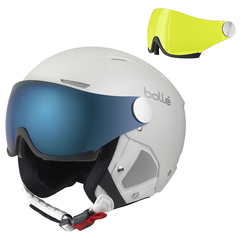 77e28646 Backline Visor Premium Casque Ski Unisexe Backline Visor Premium Casque Ski  Unisexe ...