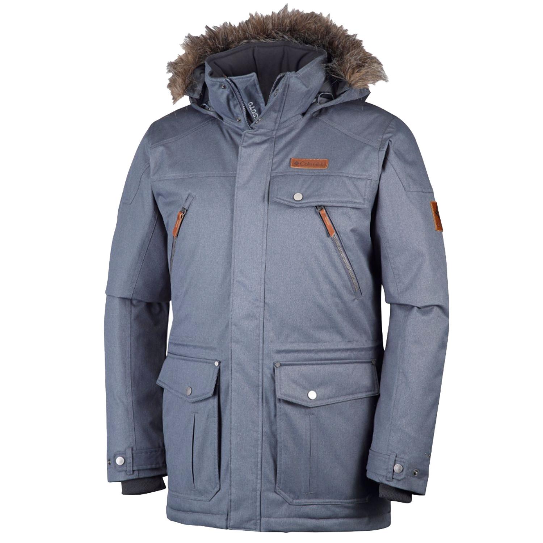 acheter populaire b18c3 a4af6 Barlow Pass 550 Manteau Homme COLUMBIA GRIS pas cher ...
