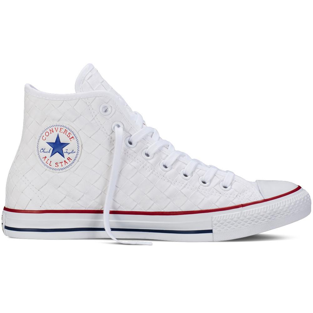 Ctas BLANC pas CONVERSE Unisexe Baskets Hi cher Chaussure q354ARcLj