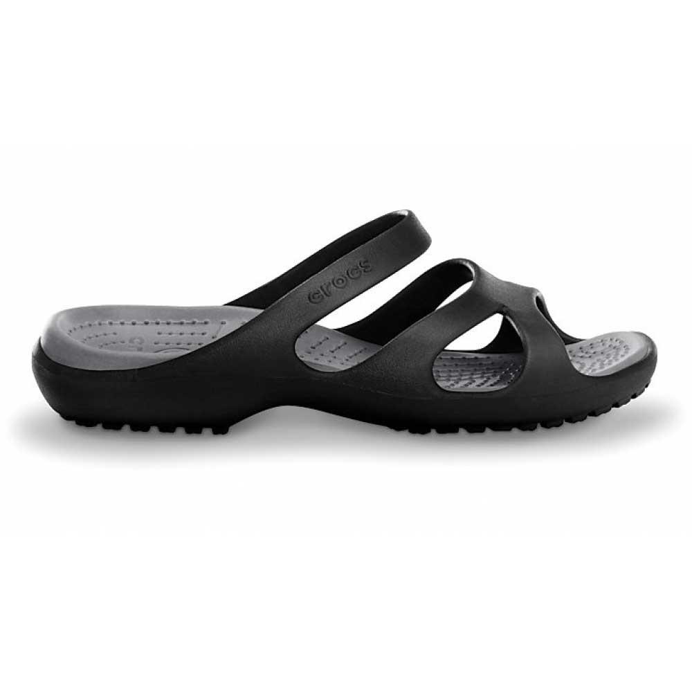 Crocs Sandale Noire Femmes