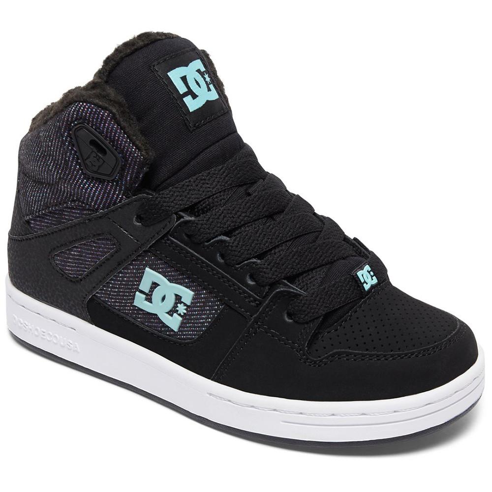 Chaussures pas de DC SHOES Fille Chaussure NOIR Rebound cher Wnt zqwYtc8