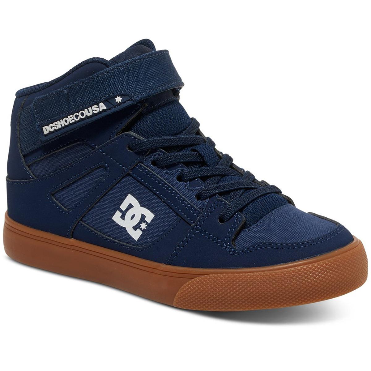 Spartan High Chaussure Garcon DC SHOES BLEU pas cher - Chaussures de ... 3e426f77cc3f