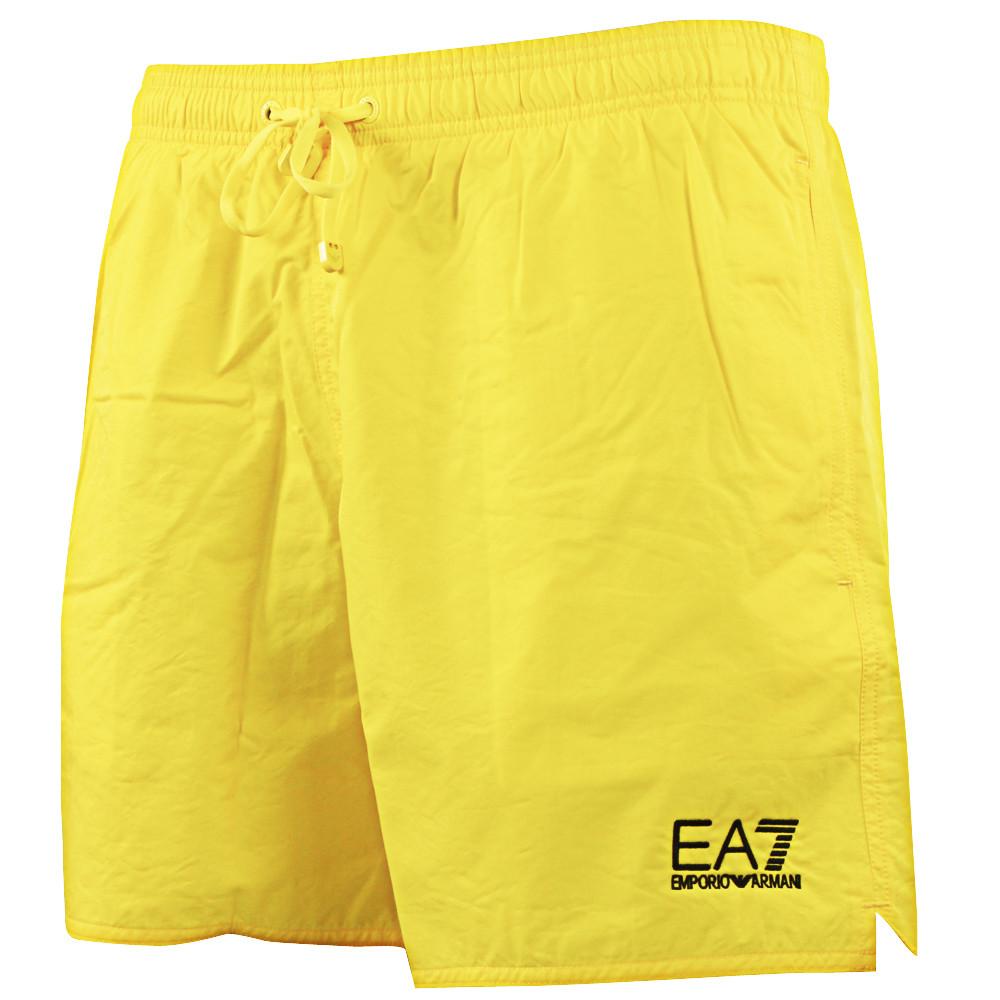 Cher Jaune Pas Core Bw World Ea7 Bain De Sea Shorts Short Homme Rnz0xg0Oa