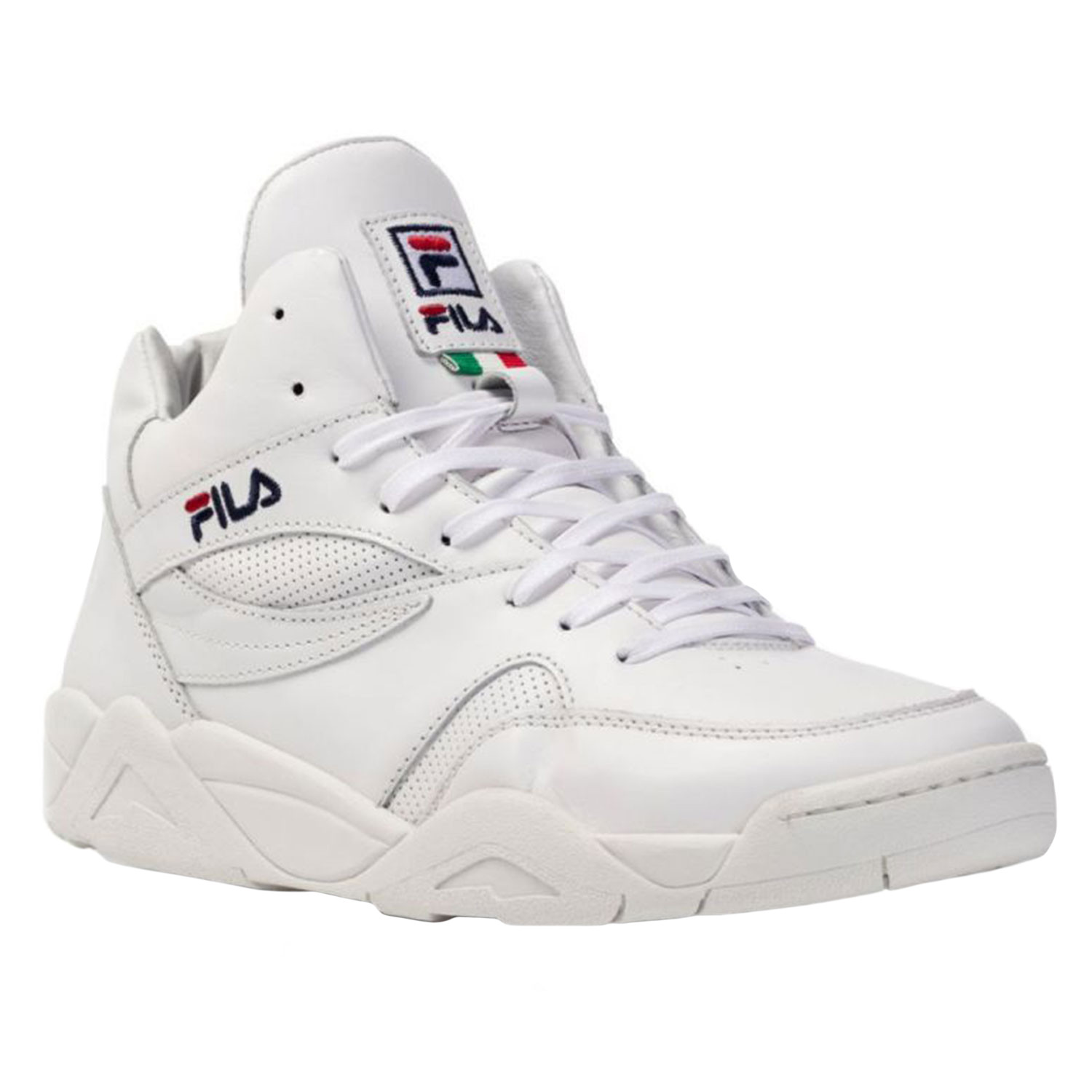 Montantes Cher Mid Pas Blanc Pine Homme Fila Baskets Chaussure FKJcTl31