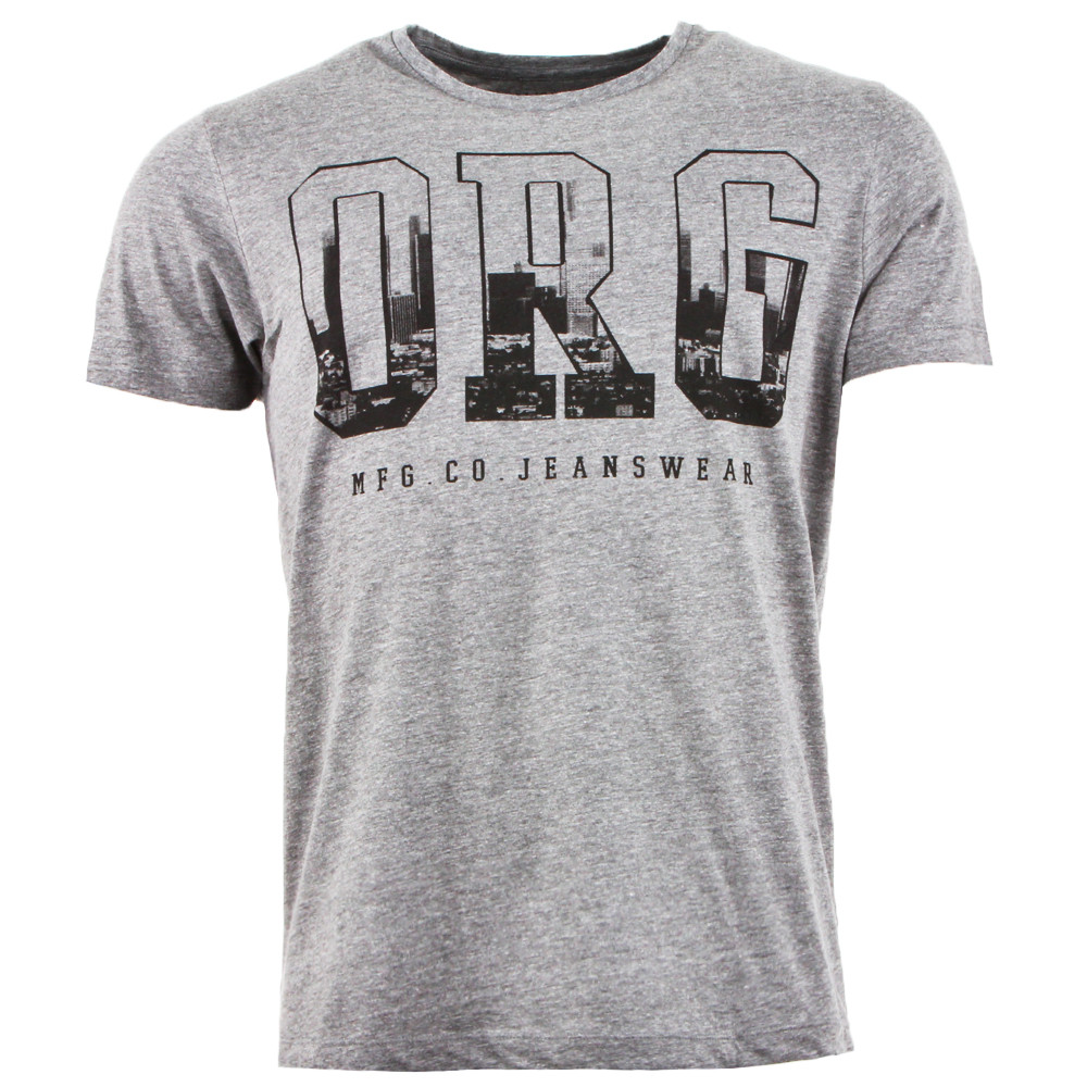 Typo Tee Shirt Mc Homme