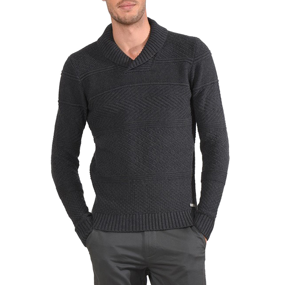 Jao Pull Homme KAPORAL GRIS pas cher - Pulls