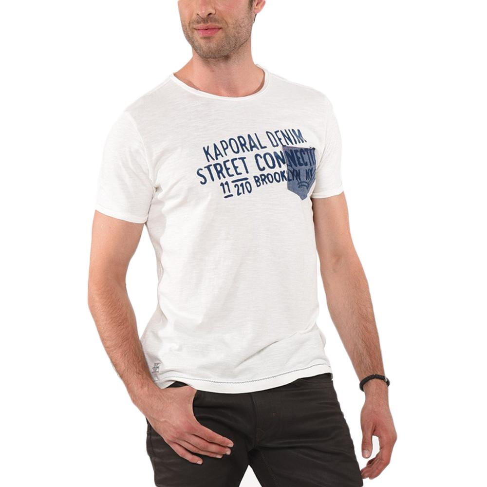 Lino Tee Shirt Mc Homme