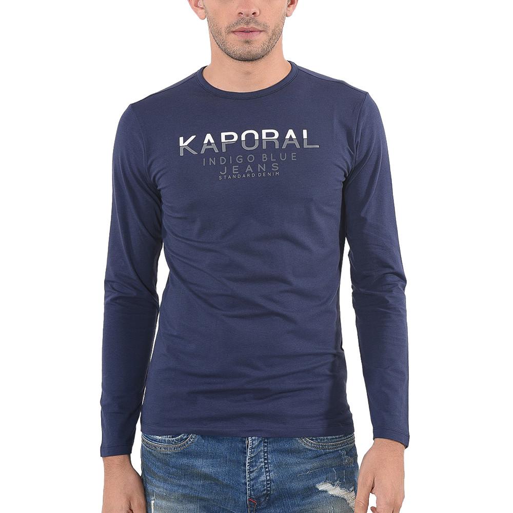 Ponio T-Shirt Ml Homme KAPORAL BLEU pas cher