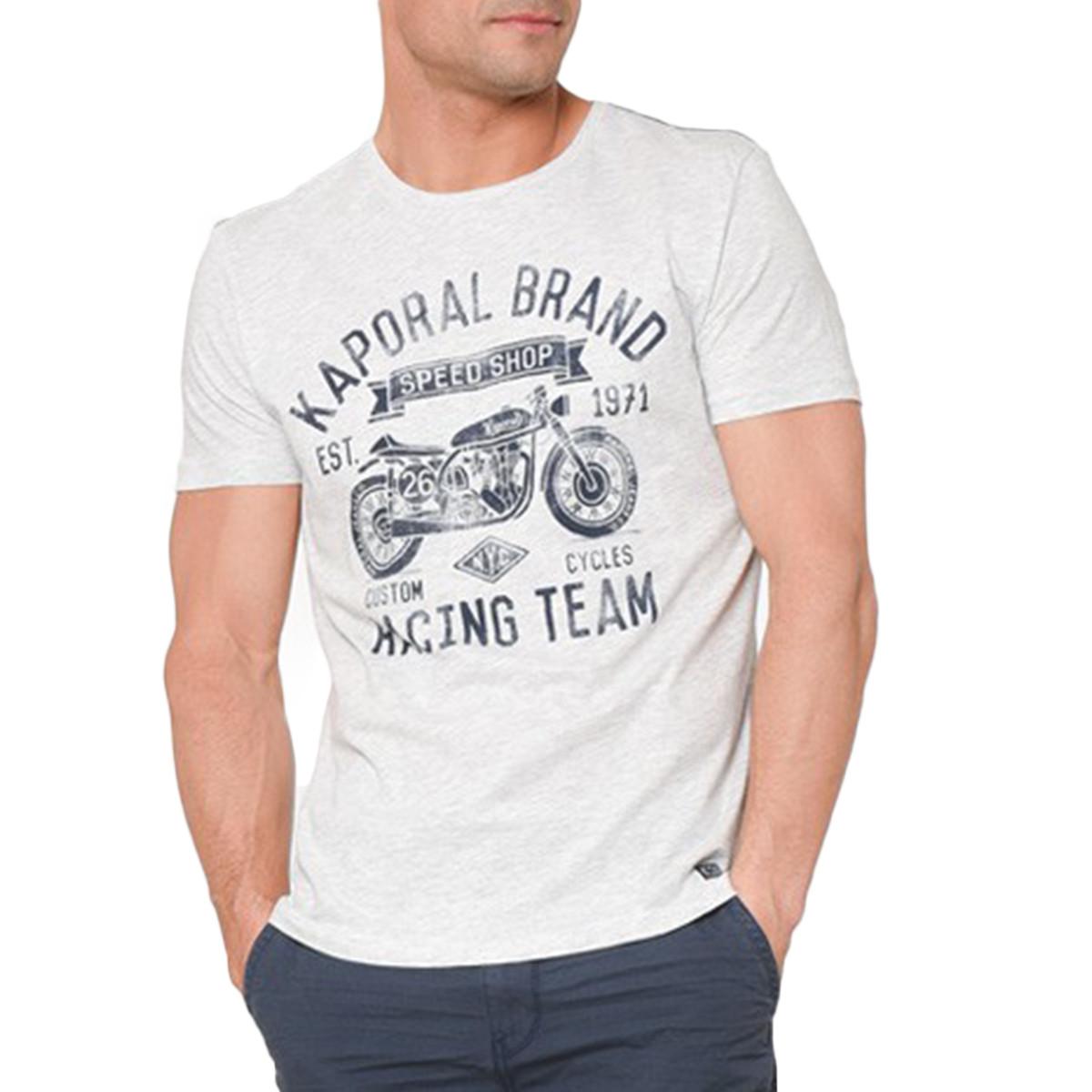 T shirt Kaporal homme manches courtes TORMO gris
