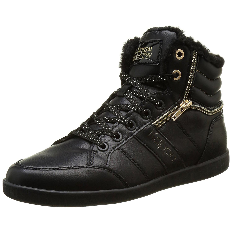 linwood chaussure femme kappa noir pas cher baskets montantes femme kappa discount. Black Bedroom Furniture Sets. Home Design Ideas