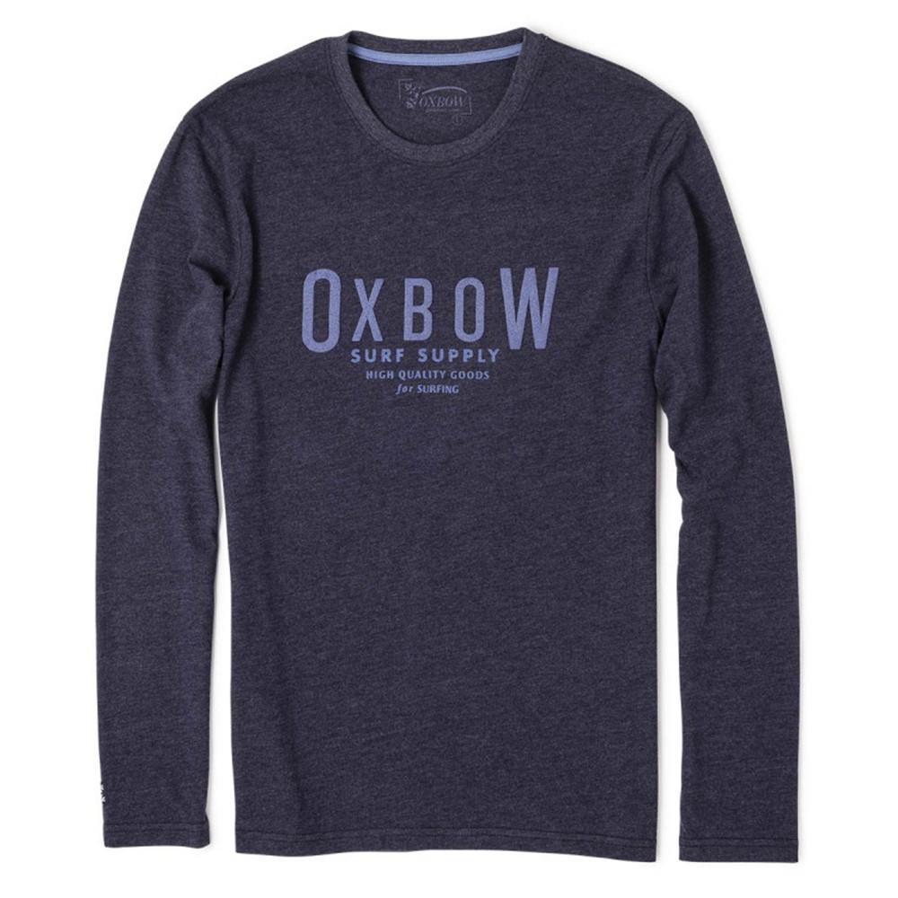 8e2d06754d22d5 Tainlan T-Shirt Ml Homme OXBOW BLEU pas cher - T-shirt manches longues  homme OXBOW discount