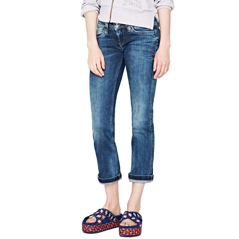 77fb94d3da4 Banji Jean Longueur 32 Femme PEPE JEANS BLEU pas cher - Jeans femme ...