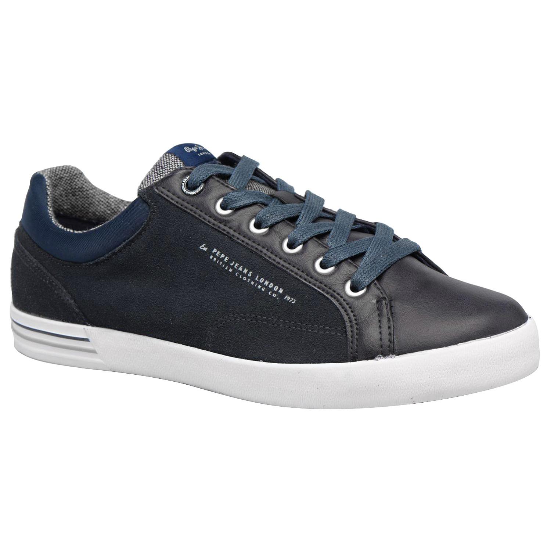 North Bleu Mix Chaussure Jeans Homme Pas Baskets Pepe Basses Cher xXrX1Awa