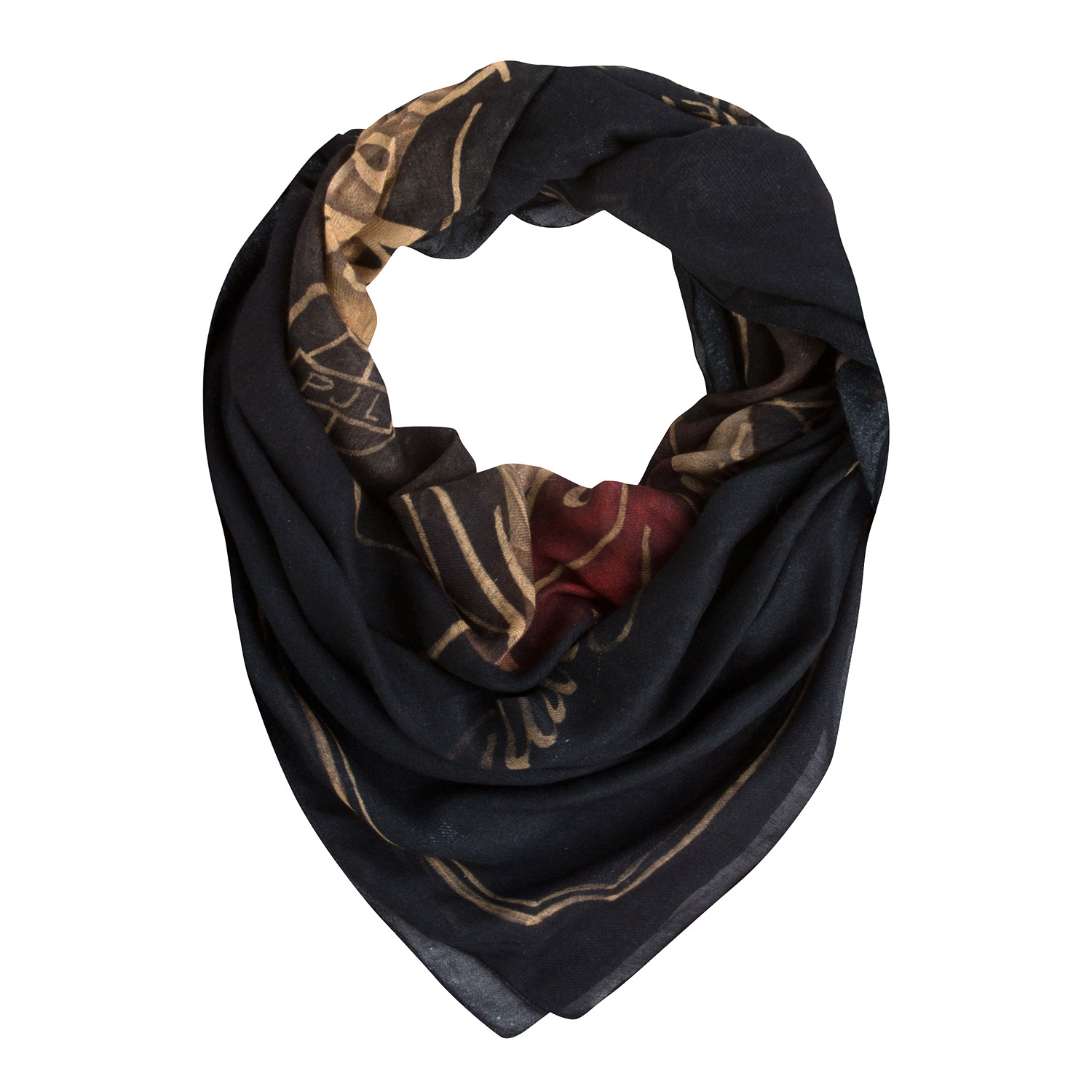 6ff4cfbe6f67 Luxor Foulard Homme PEPE JEANS BLEU pas cher - Foulards homme PEPE ...