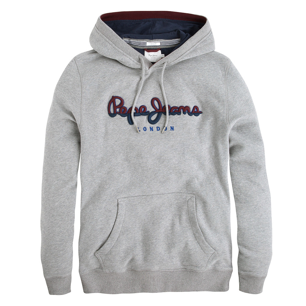 Styx Sweat Capuche Homme PEPE JEANS GRIS