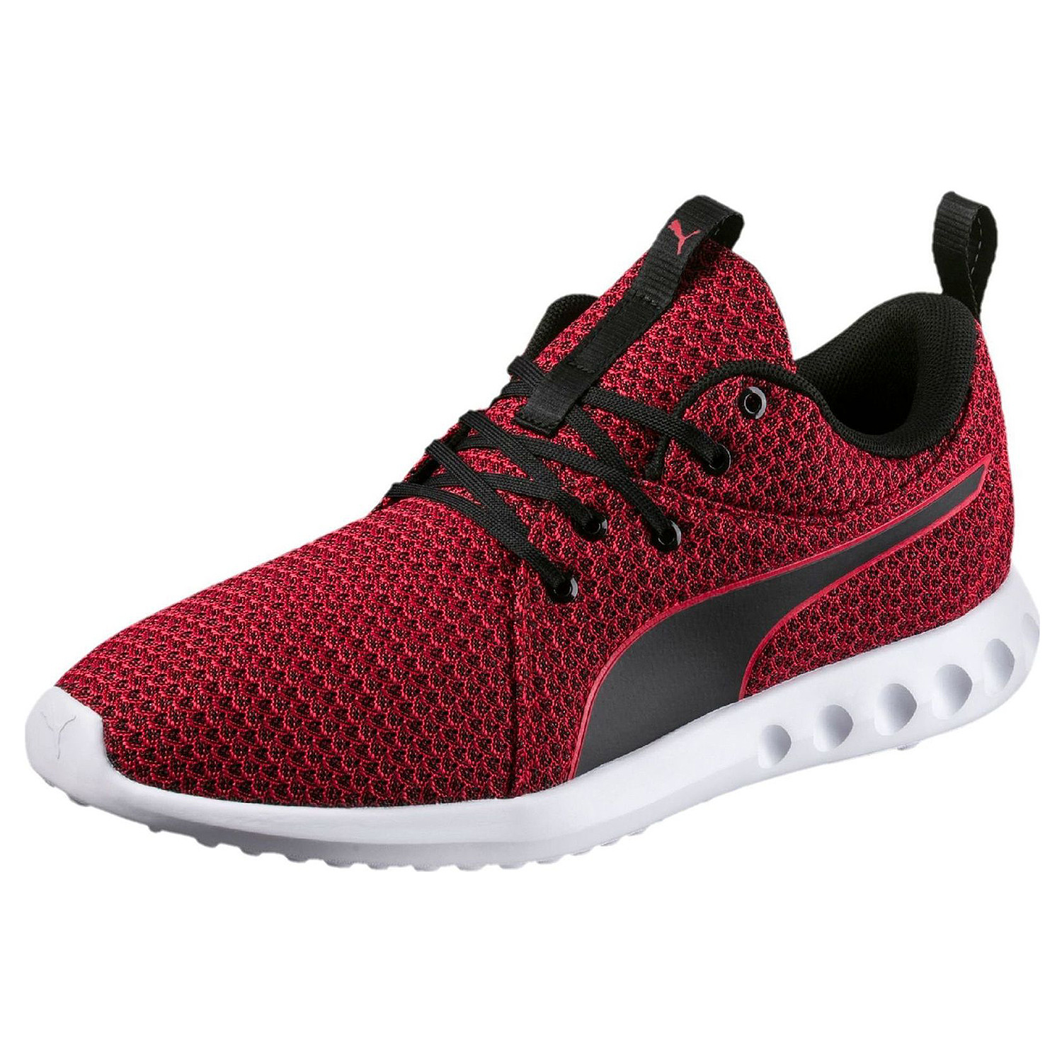 7f68cdbff96f9 Carson 2 Knit Chaussure Homme PUMA ROUGE pas cher - Chaussures ...