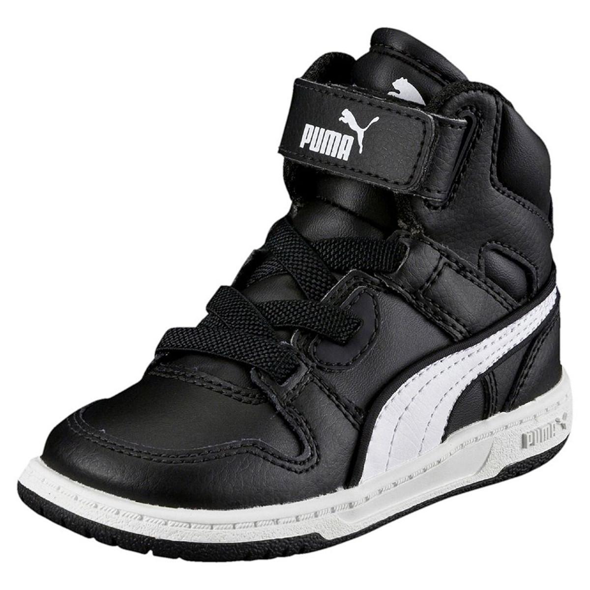 Baskets Pas Cher Street Puma Chaussure Rebound Noir Garçonbébé zCx6qgn0w