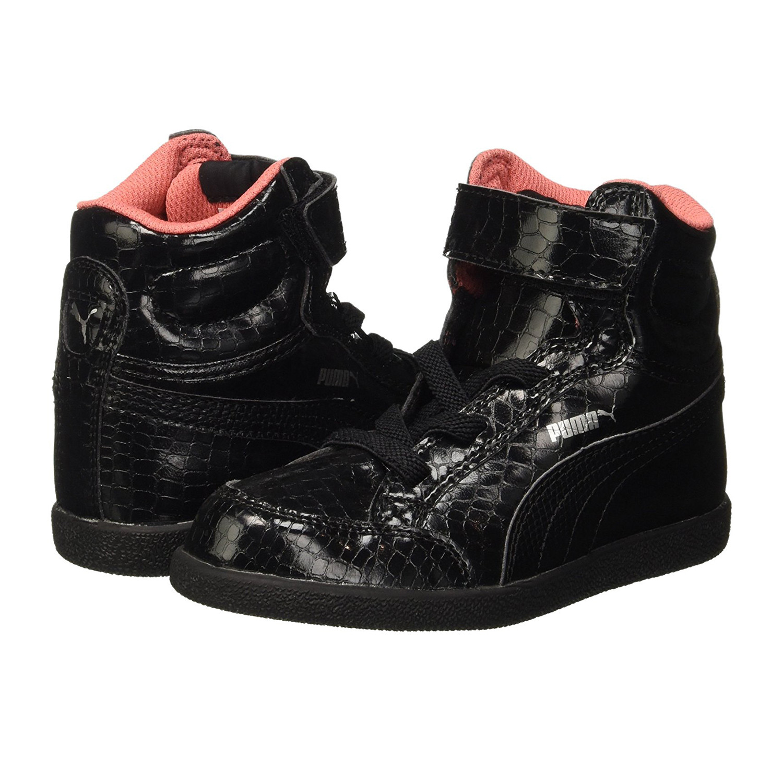 chaussure puma noir fille