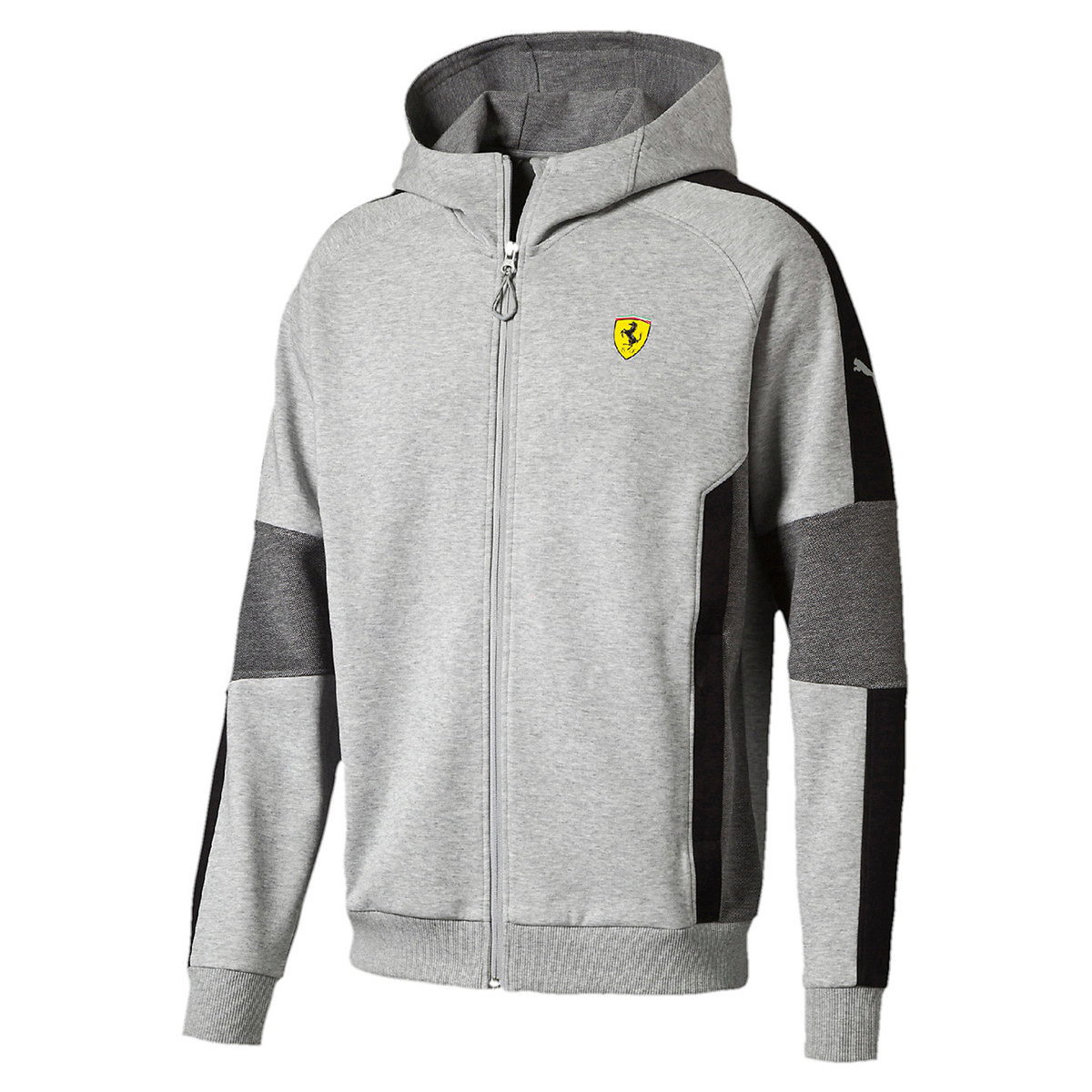 Sf Hooded Sweat Zip Homme PUMA GRIS pas cher