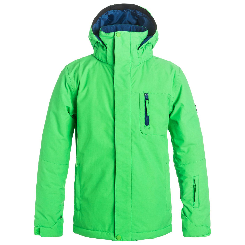 Quiksilver Pas Cher Mission Ski Solid Vert Blousons Garcon Blouson 1U7YIw7q
