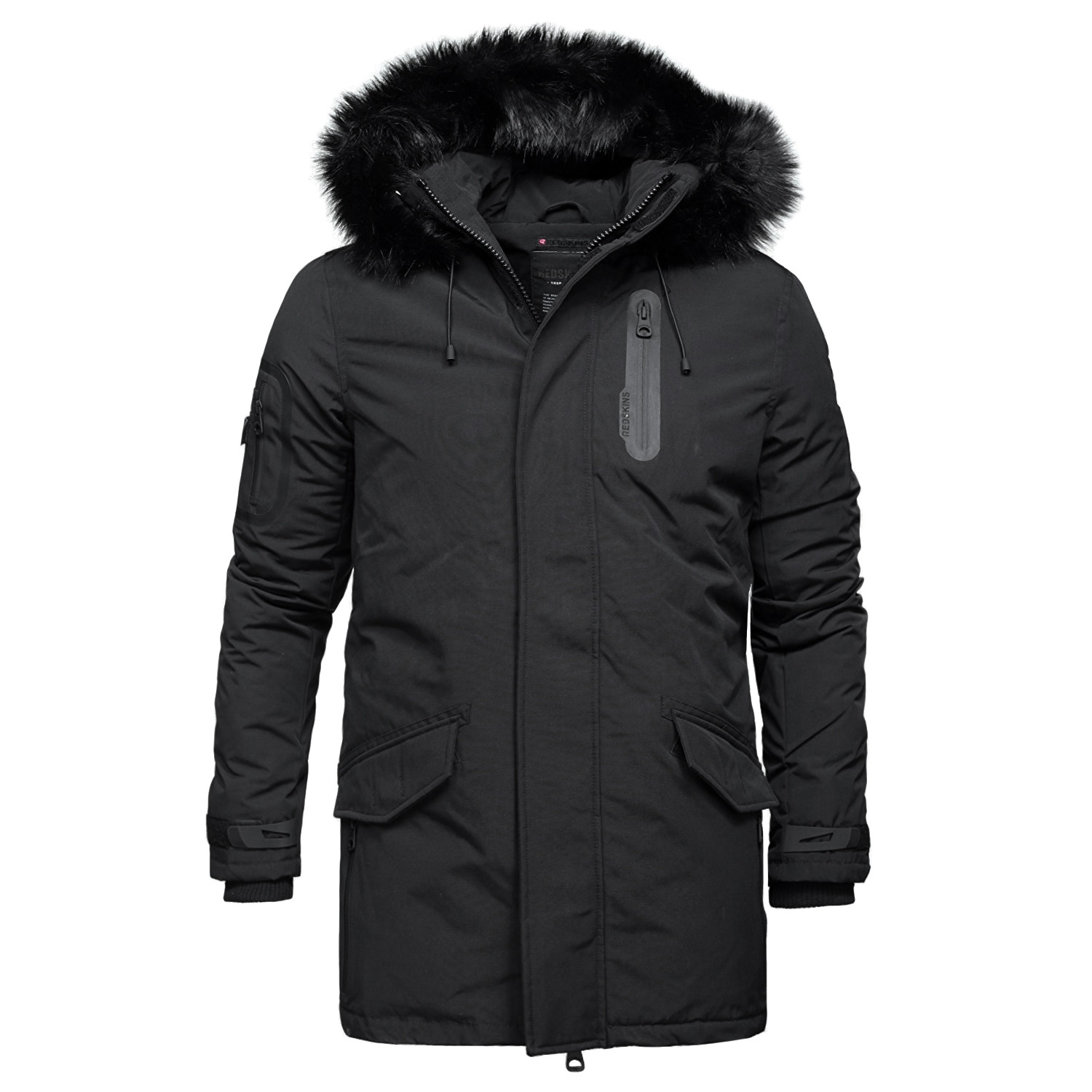 duster homeland parka homme noir pas cher parkas homme redskins discount. Black Bedroom Furniture Sets. Home Design Ideas