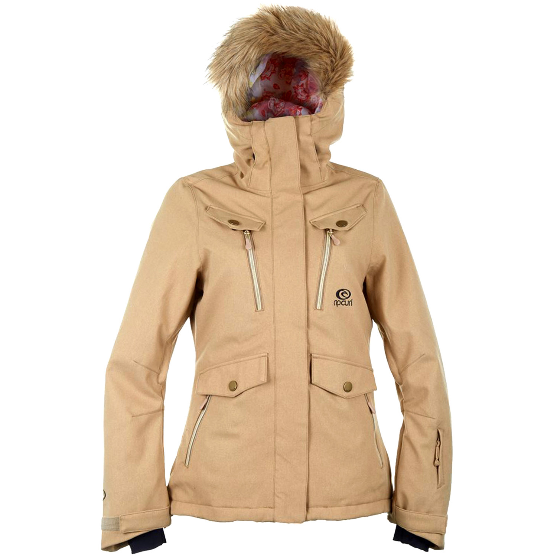 02e4a7f4cedb5 Chic Fancy Blouson Ski Femme RIP CURL BEIGE pas cher - Blousons ski ...
