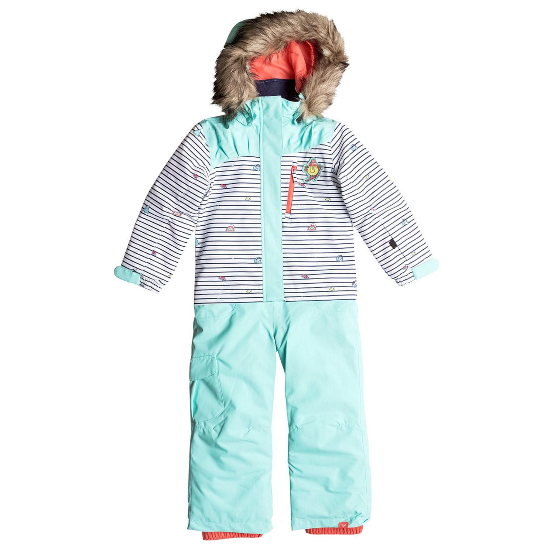 coupon de réduction juste prix large choix de couleurs et de dessins Paradise Little Miss Combinaison Ski Fille ROXY BLANC pas ...