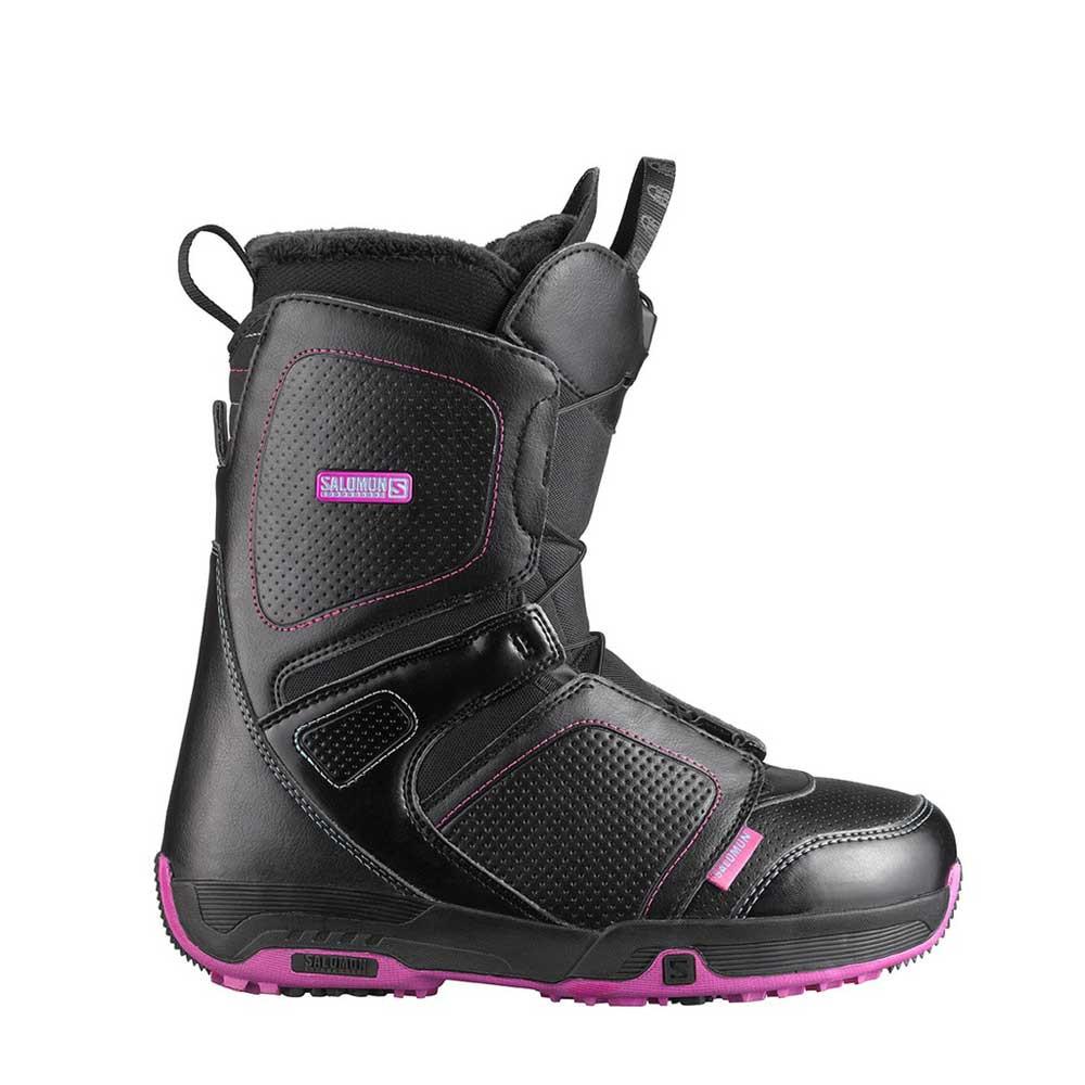 pearl boots snowboard femme noir pas cher boots de snowboard salomon discount. Black Bedroom Furniture Sets. Home Design Ideas