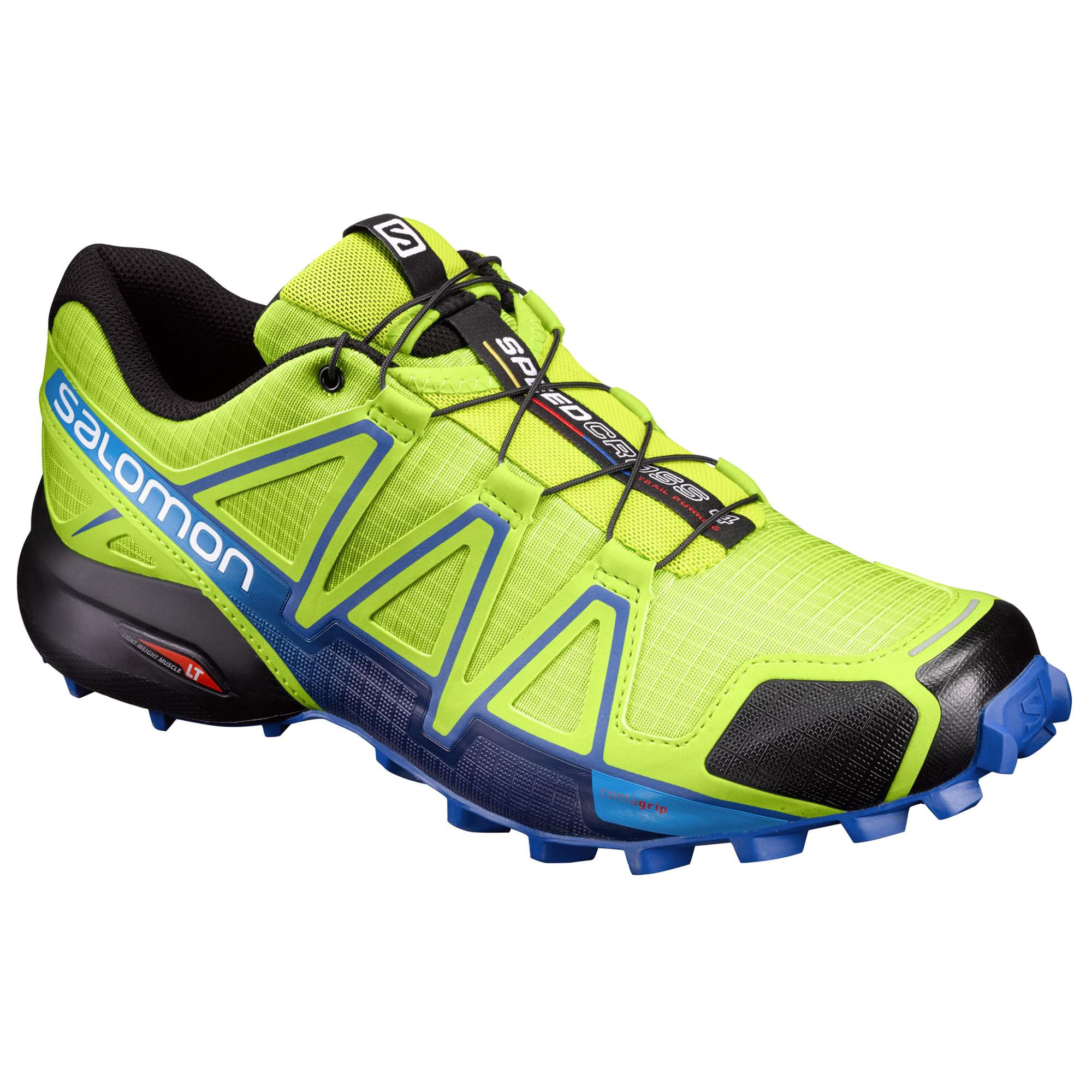 Speedcross 4 Chaussure Trail Homme SALOMON VERT pas cher