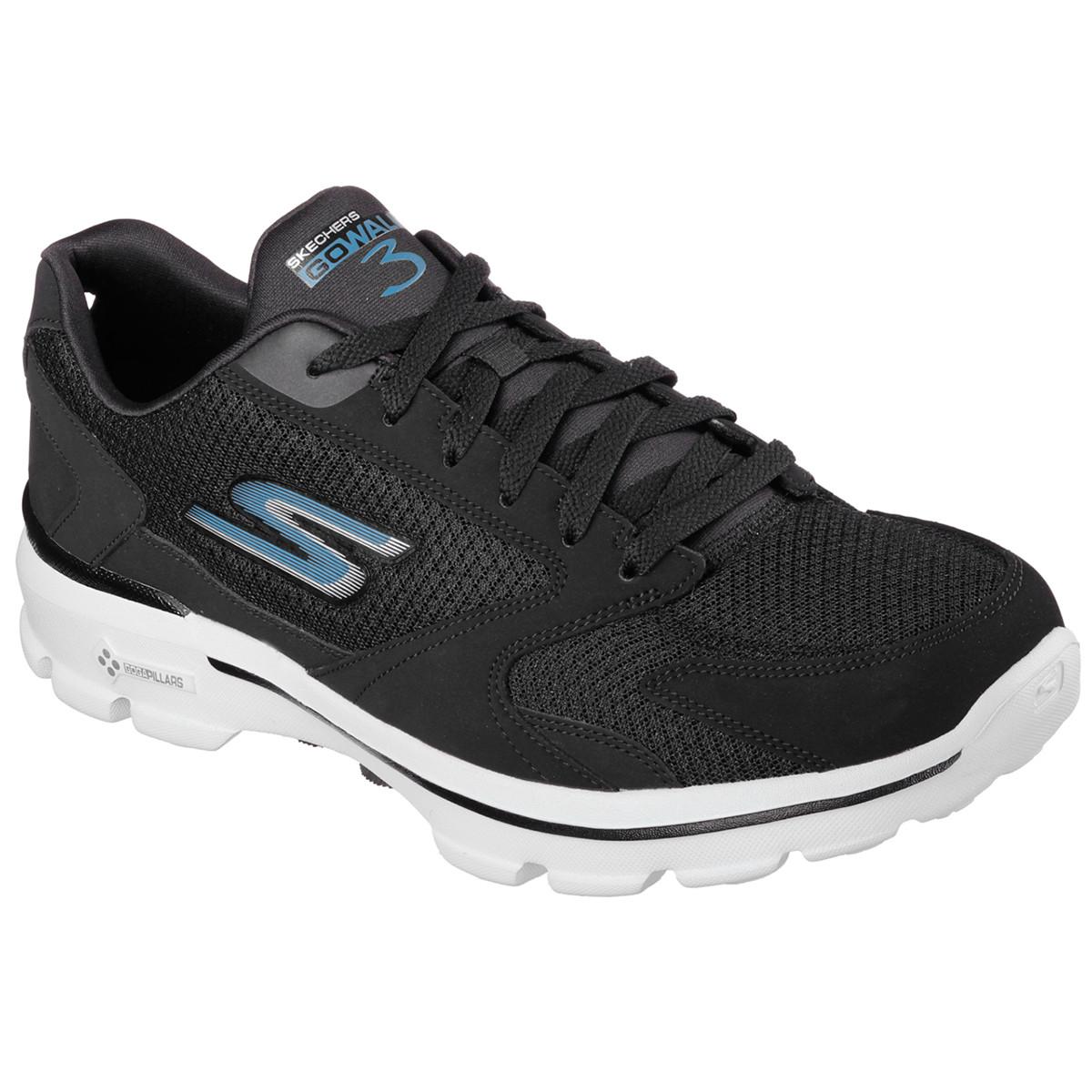 Pas Chaussures Chaussure Skechers Homme Noir De Go Cher Walk 3 8q7RRY
