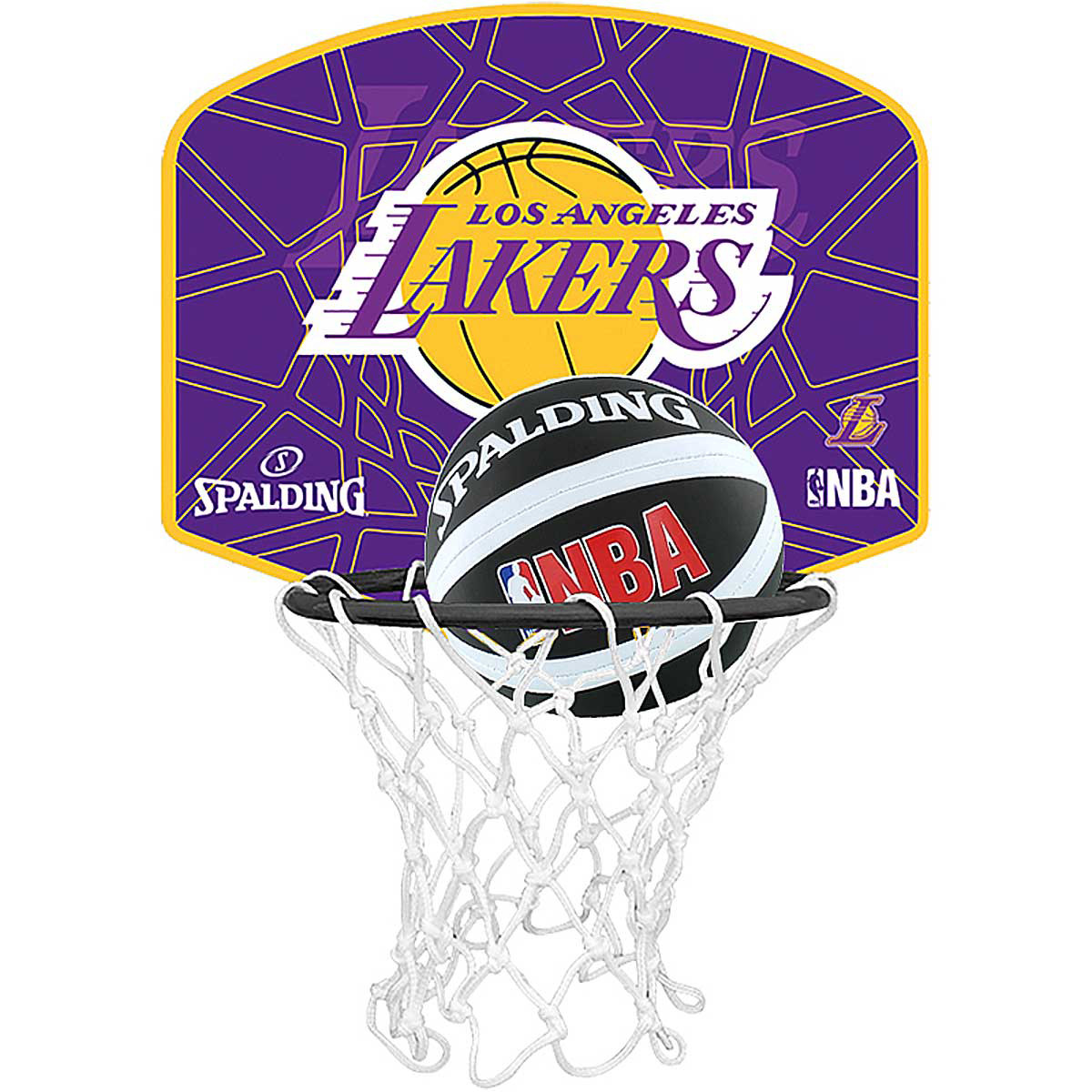 Los Angeles Lakers Mini Panier Ballon Basket