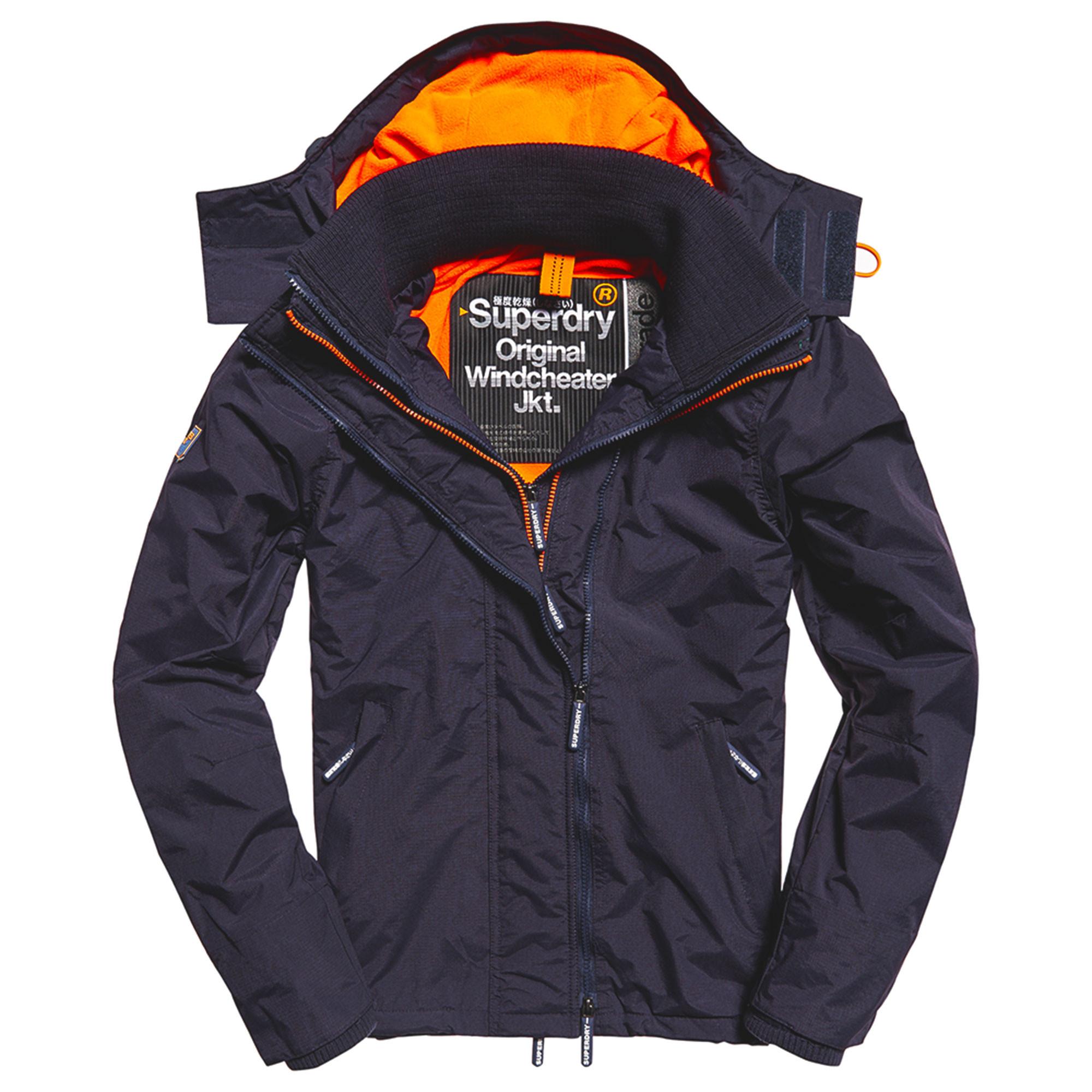 67a4eff4bdecfd Pop Zip Hood Arctic Windcheter Blouson Homme SUPERDRY BLEU pas cher -  Blousons homme SUPERDRY discount