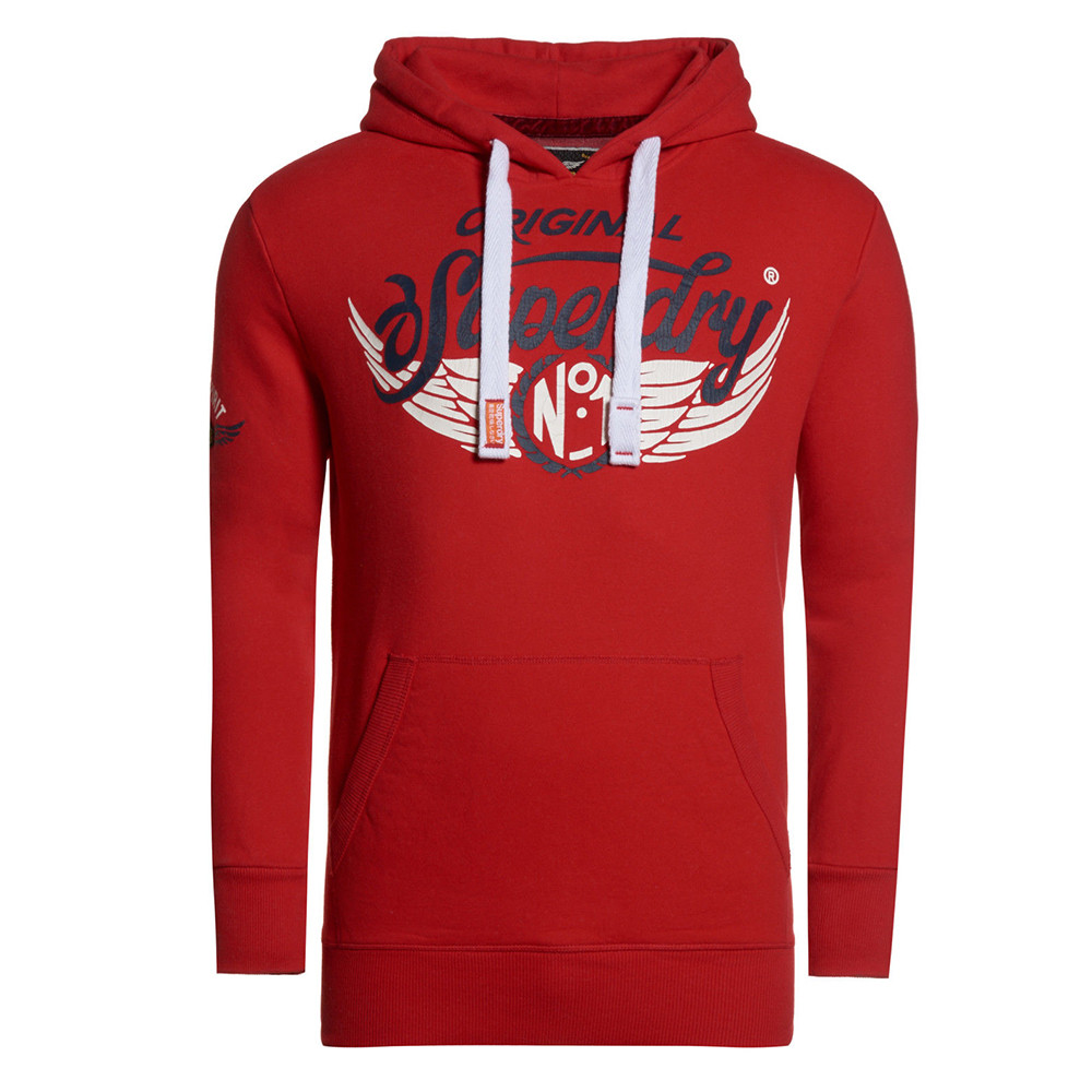 À Sweats Rouge Homme Capuche Cher Pas Sweat Superdry Shop Chop wgv8zq8 d1792f14f481