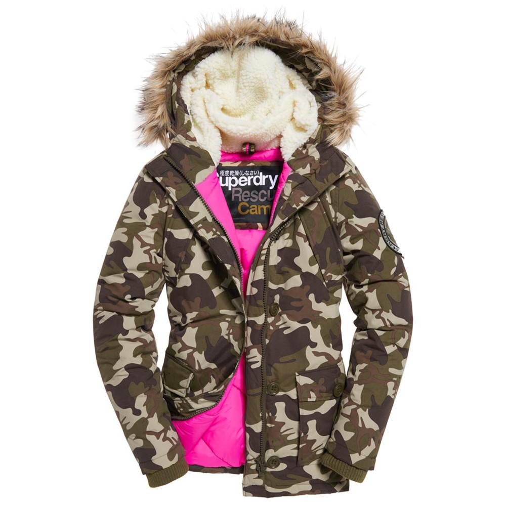 Everest Parka Femme SUPERDRY VERT pas cher - Parka femme SUPERDRY ... 91689ff2fd86