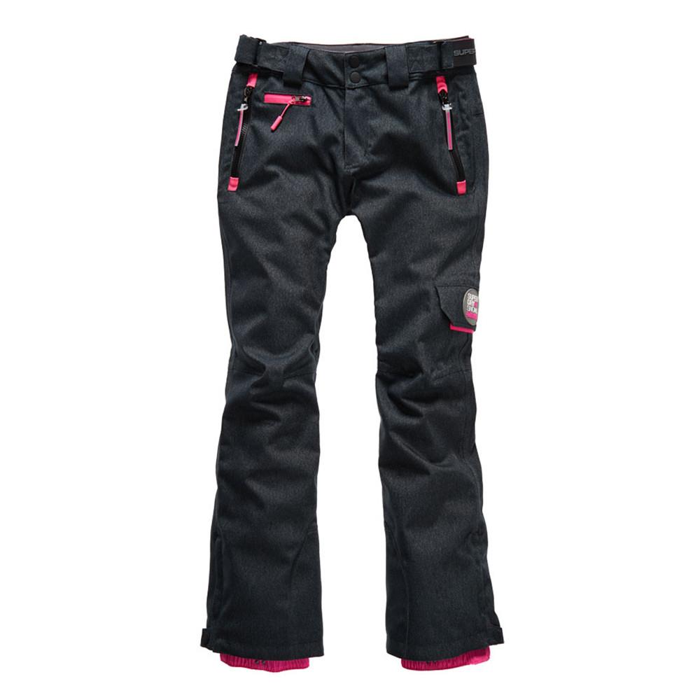 snow pantalon ski femme superdry bleu pas cher pantalons ski et snowboard superdry discount
