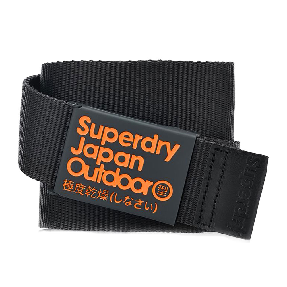 new design running shoes cheapest price Hampton Ceinture Homme SUPERDRY NOIR pas cher - Ceinture ...