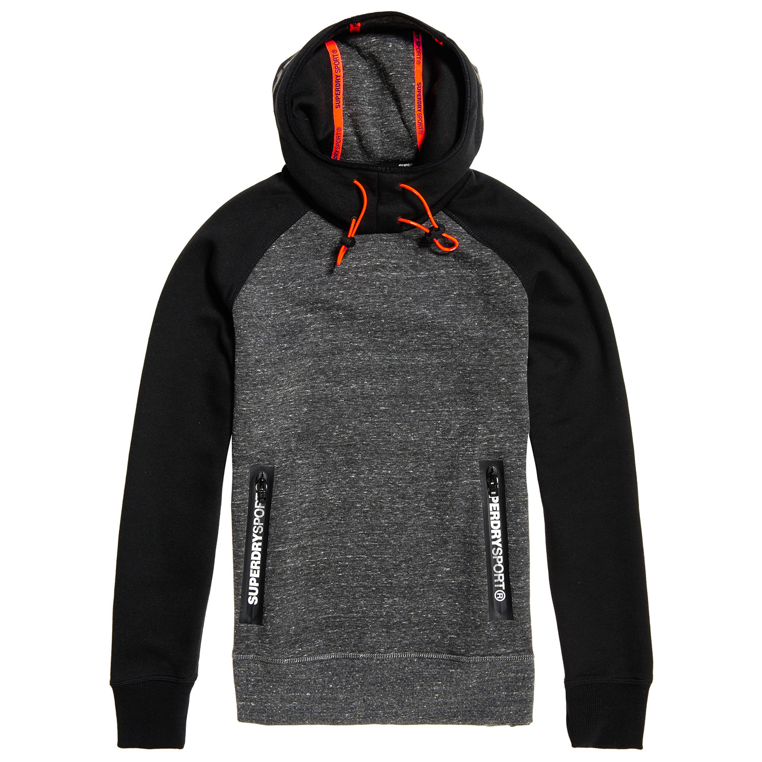 Gym Tech Raglan Sweat Capuche Homme