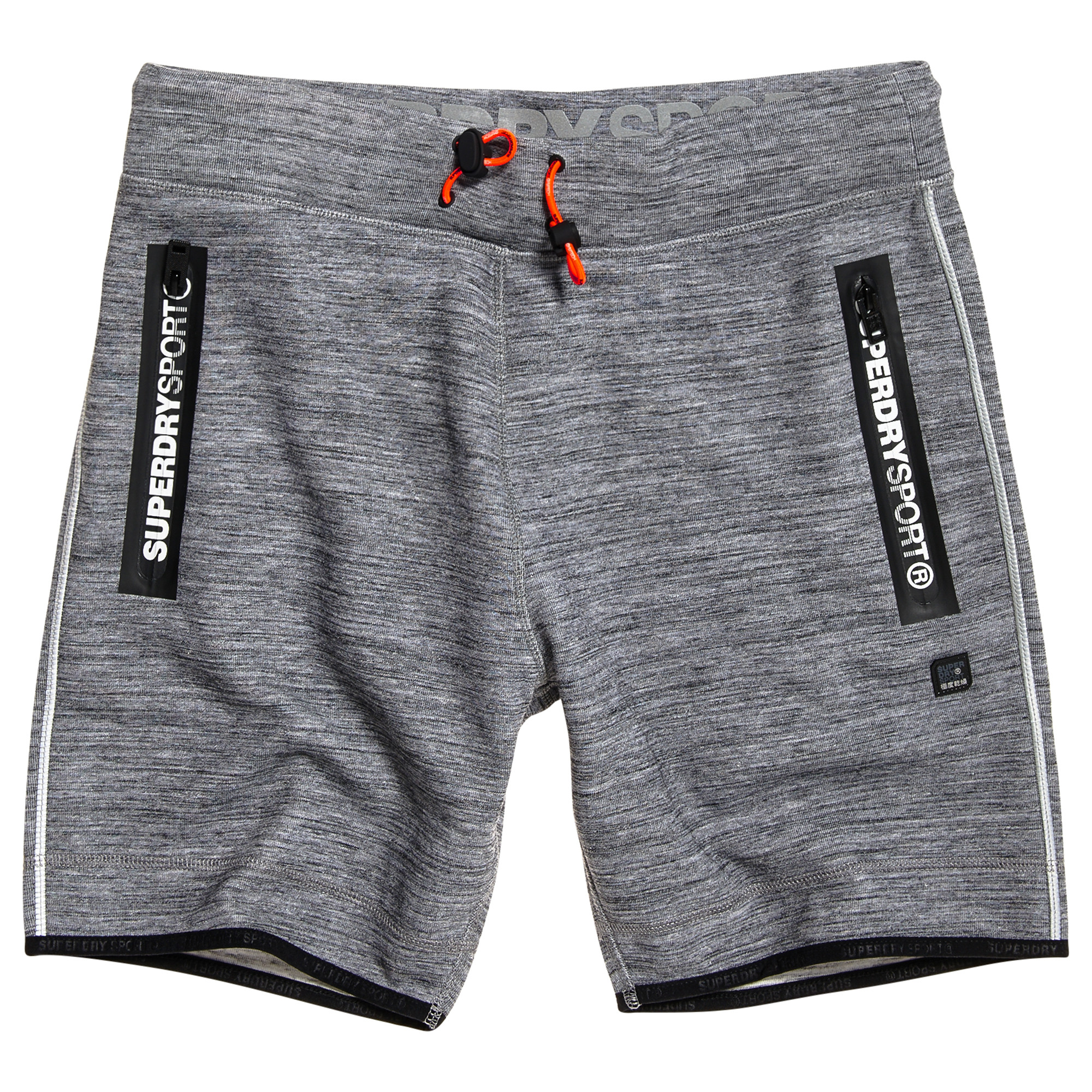 Gym Tech Slim Short Homme SUPERDRY GRIS pas