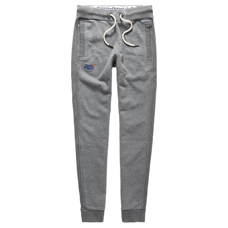 Orange label slim pantalon jogging homme gris pas cher pantalons de surv tement homme superdry - Jogging homme slim ...