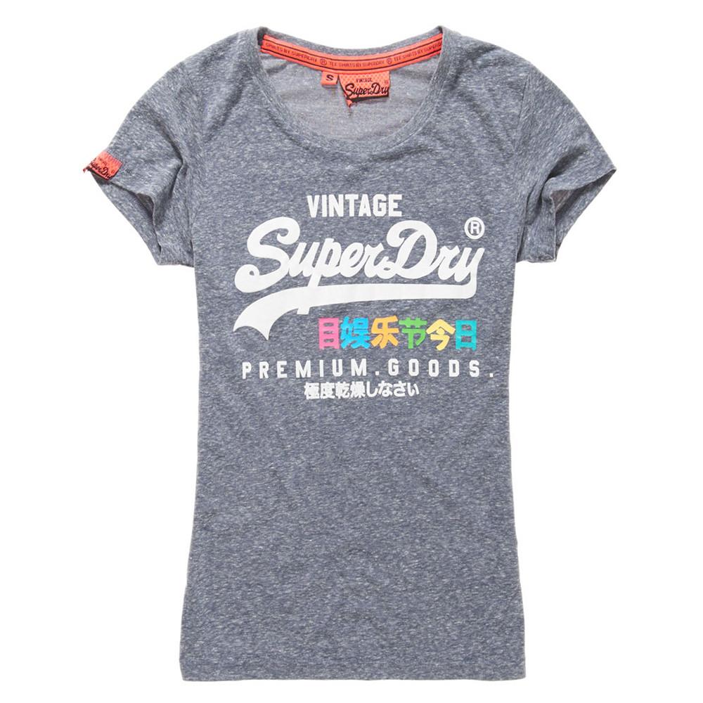 Premium Goods Rainbow T-Shirt Mc Femme