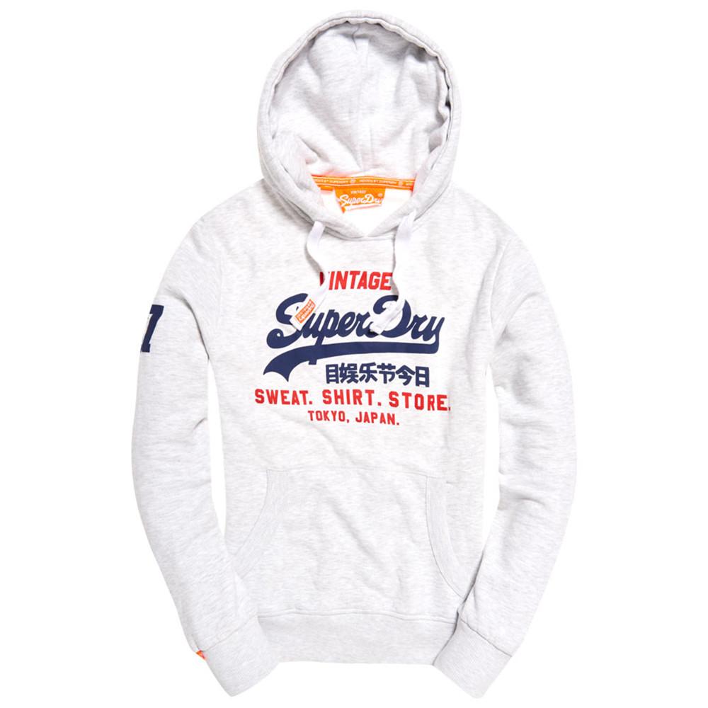 eb935124bbc2 Blanc Superdry À Cher Sweat Sweats Homme Capuche Store Pas Shirt IwX6qZFn