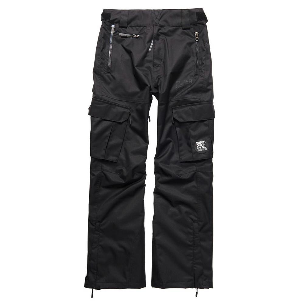 Pantalons Snow Cher Noir Et Superdry Ski Homme Pas Pantalon UvqU0wp