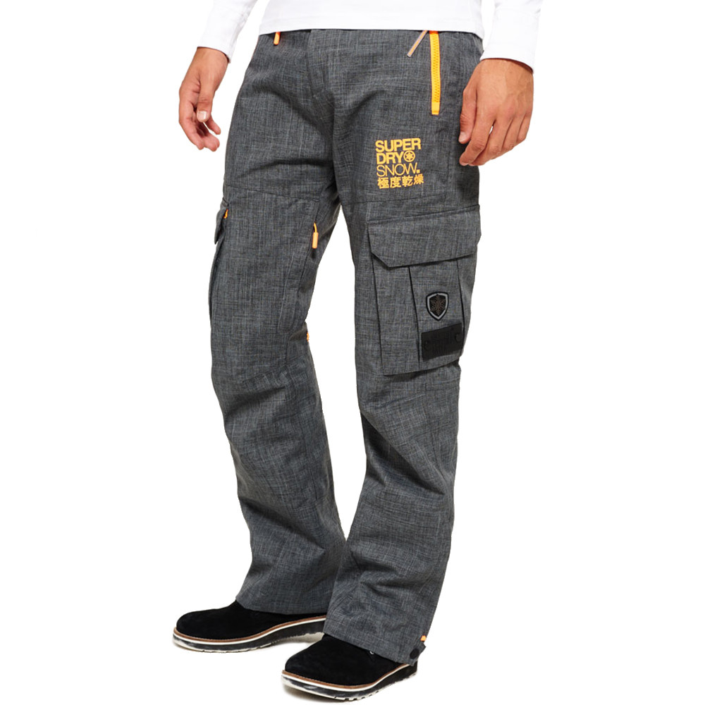 best value on feet shots of various colors Snow Pantalon Ski Homme SUPERDRY GRIS pas cher - Pantalons ...
