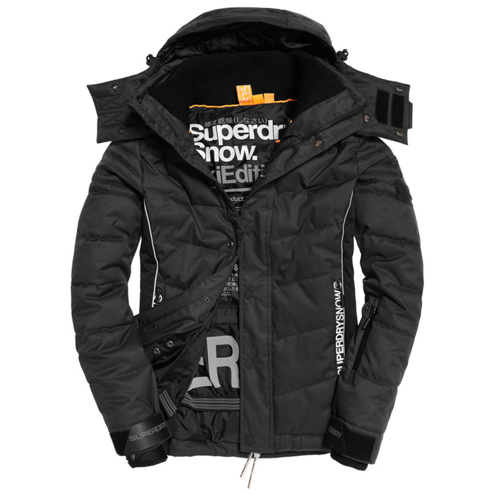 snow puffer blouson ski homme superdry gris pas cher blousons ski et snowboard superdry discount. Black Bedroom Furniture Sets. Home Design Ideas