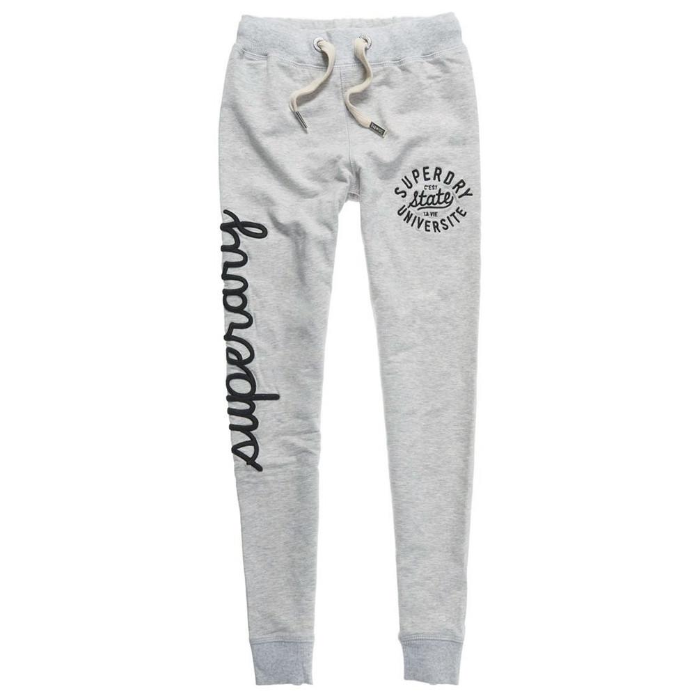 Super Pas Blanc Skinny Jogging Femme Superdry Pantalon Cher HxawrqYH