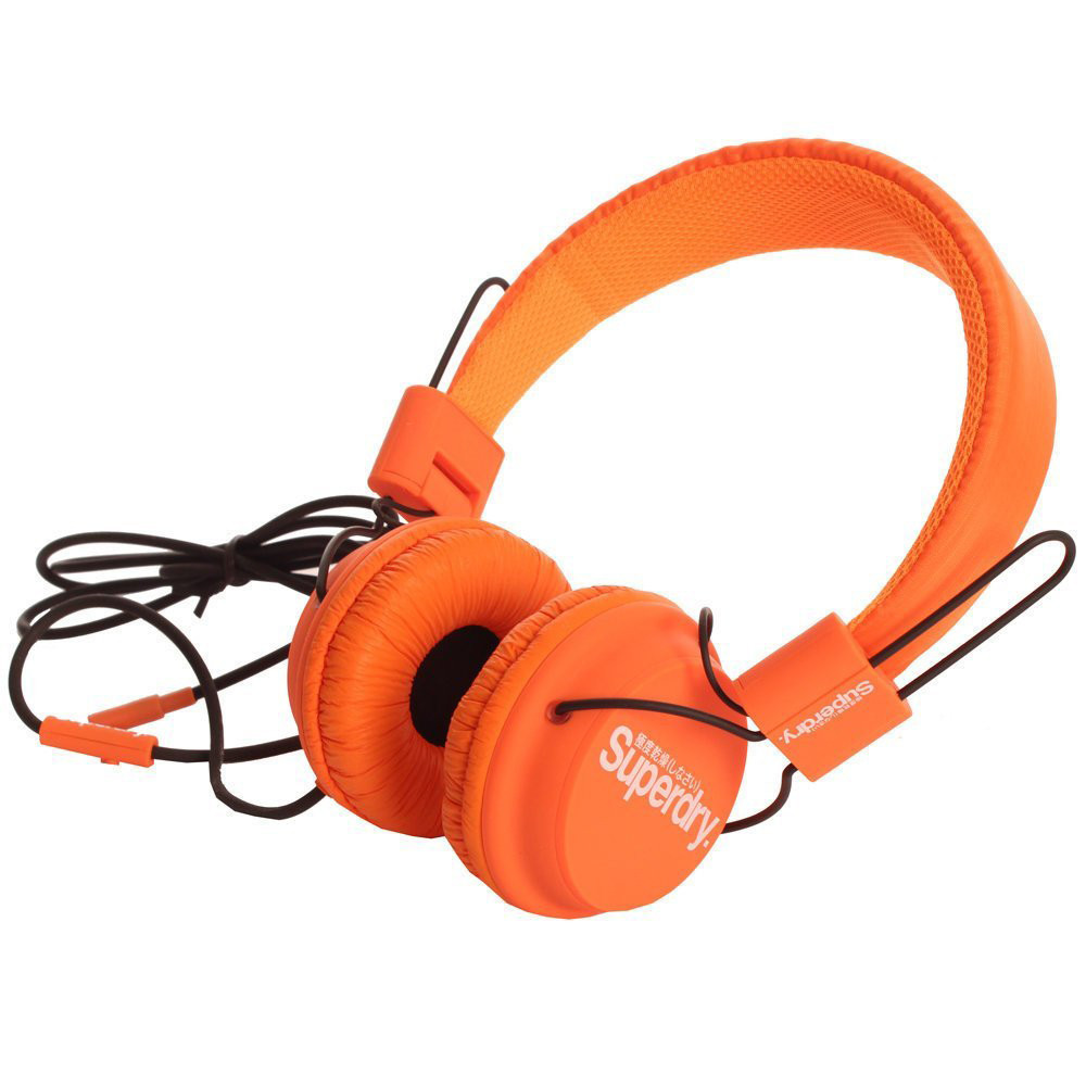 Technical Casque Audio Unisexe Superdry Orange Pas Cher Casque