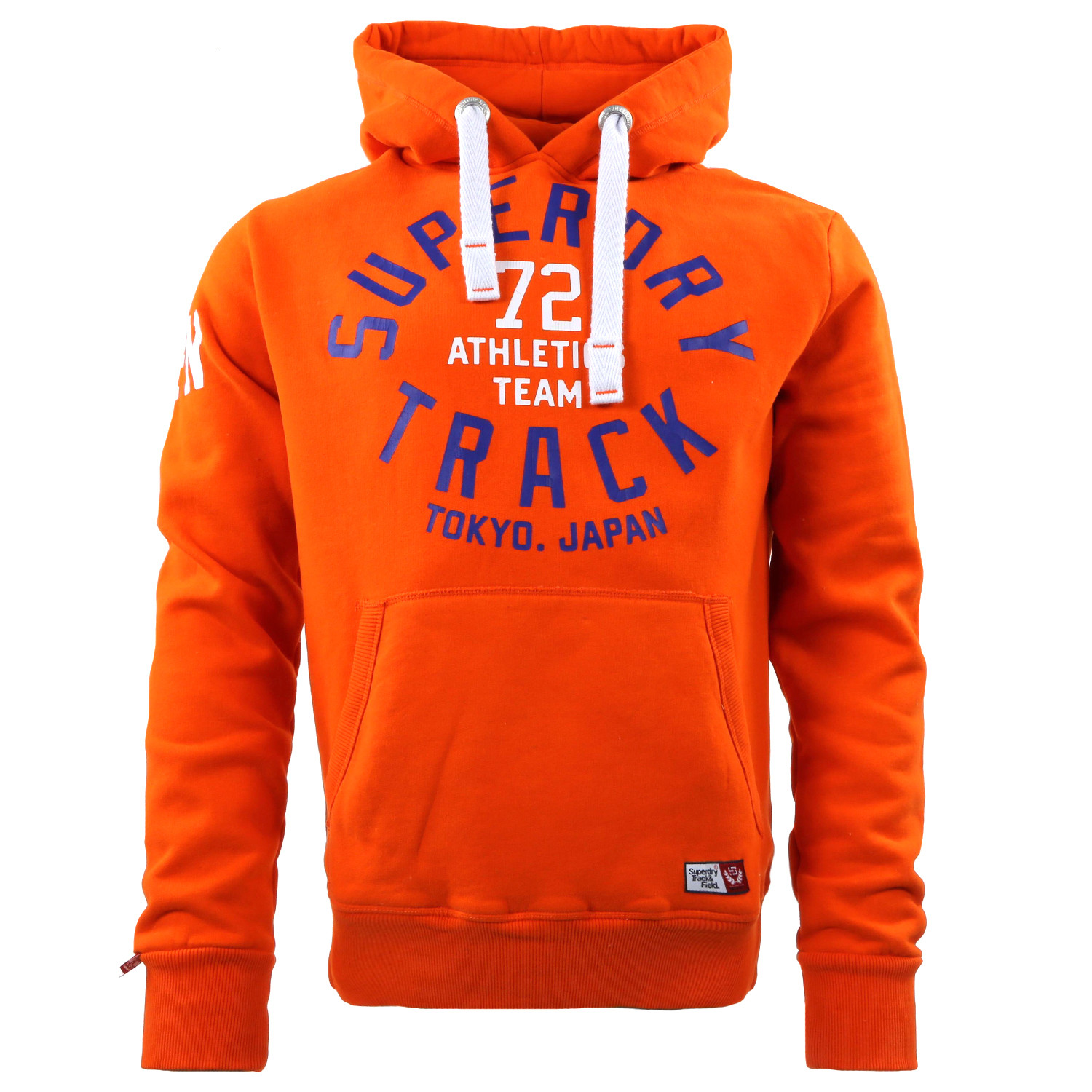 Trackster Homme Capuche Sweat cher ORANGE SUPERDRY pas YEH9W2ID