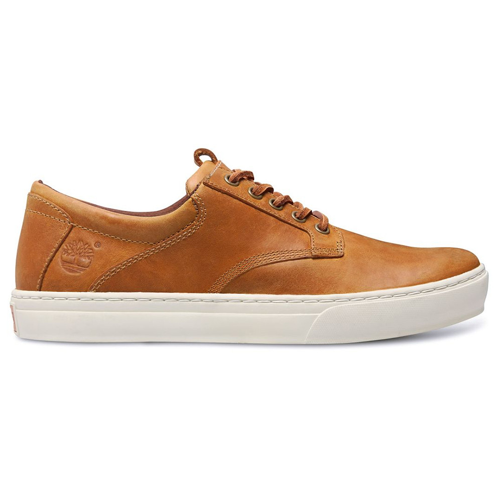 Leather Oxford Chaussure Homme TIMBERLAND BEIGE pas cher