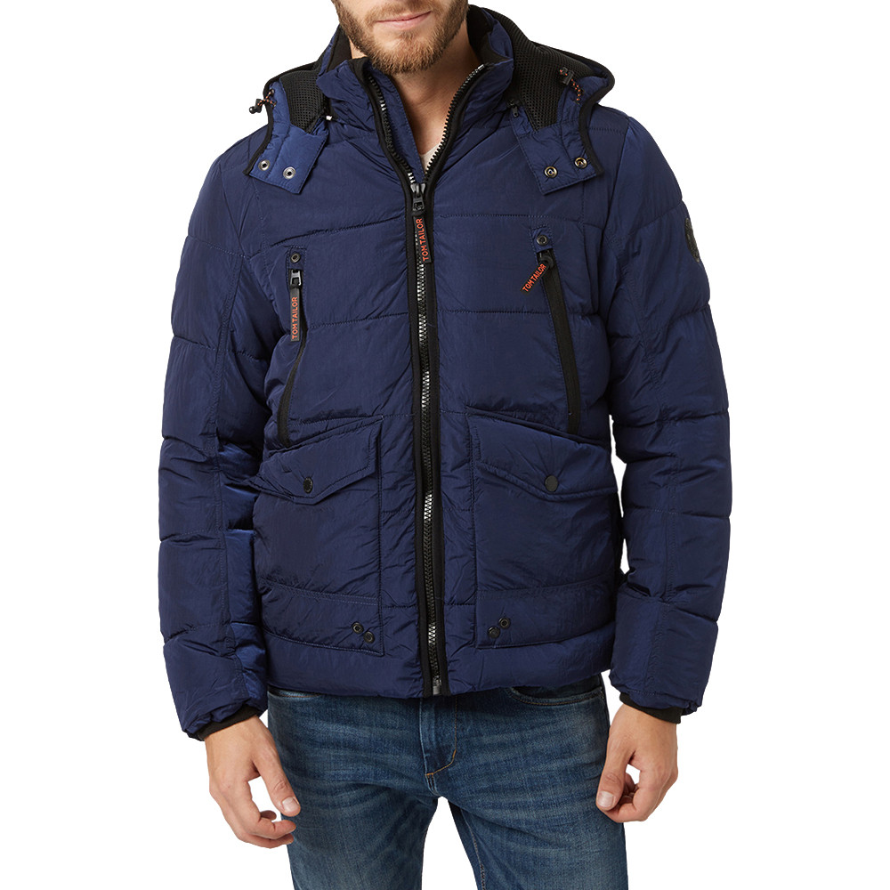 Search For Flights Authentic Corneliani Navy Drawstring Layered Padded Coat Size 60/50 As Is Coats & Jackets